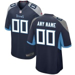 Men's Tennessee Titans Nike Navy Vapor Limited Jersey
