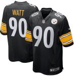 Pittsburgh Steelers T.J. Watt #90 Nike Black Jersey