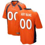 Men's Denver Broncos Nike Orange Vapor Limited Jersey