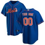 Men's New York Mets Nike Royal Alternate 2020 Replica Custom Jersey