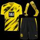 Borussia Dortmund Home Jersey Kit 2020/21 (Shirt+Shorts+Socks)
