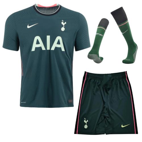 Tottenham Hotspur Away Jersey Kit 2020/21 (Shirt+Shorts+Socks)
