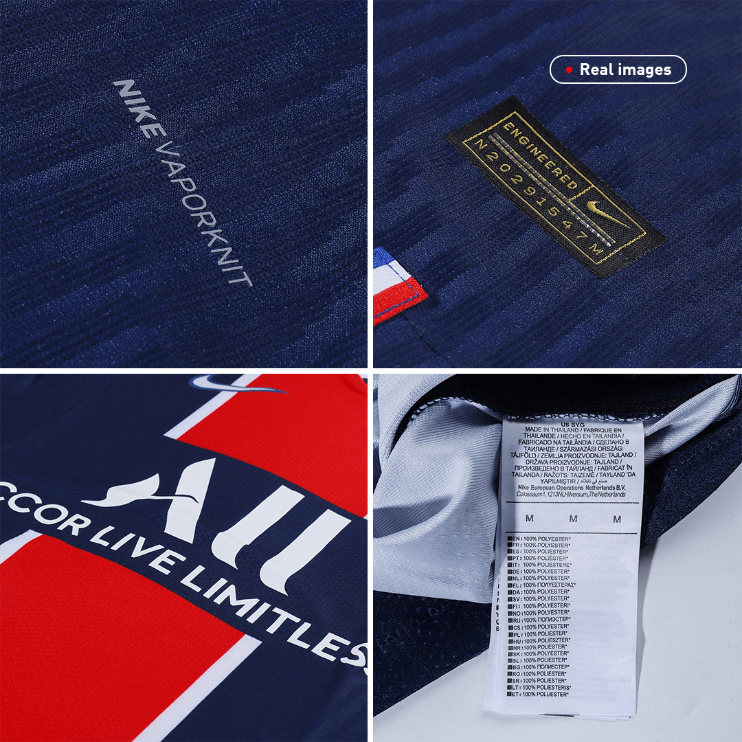 PSG Home Jersey Authentic 2020/21