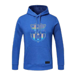 Barcelona Hoody Sweater 2020/21 - Blue