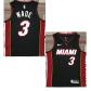 Brooklyn Nets Wade #3 NBA Jersey Swingman Nike - Black - City