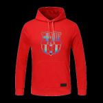 Barcelona Hoody Sweater 2020/21 - Red