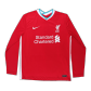 Liverpool Home Jersey 2020/21 - Long Sleeve