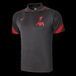 Liverpool Polo Shirt 2020/21 - Dark Gray