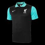 Liverpool Polo Shirt 2020/21 - Black&Green