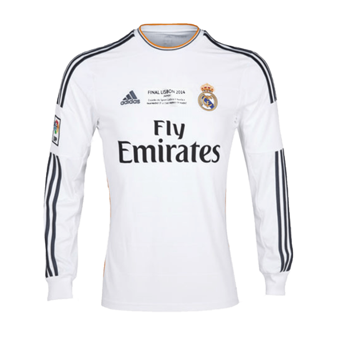 Real Madrid Home Jersey Retro 2013/14 - Long Sleeve