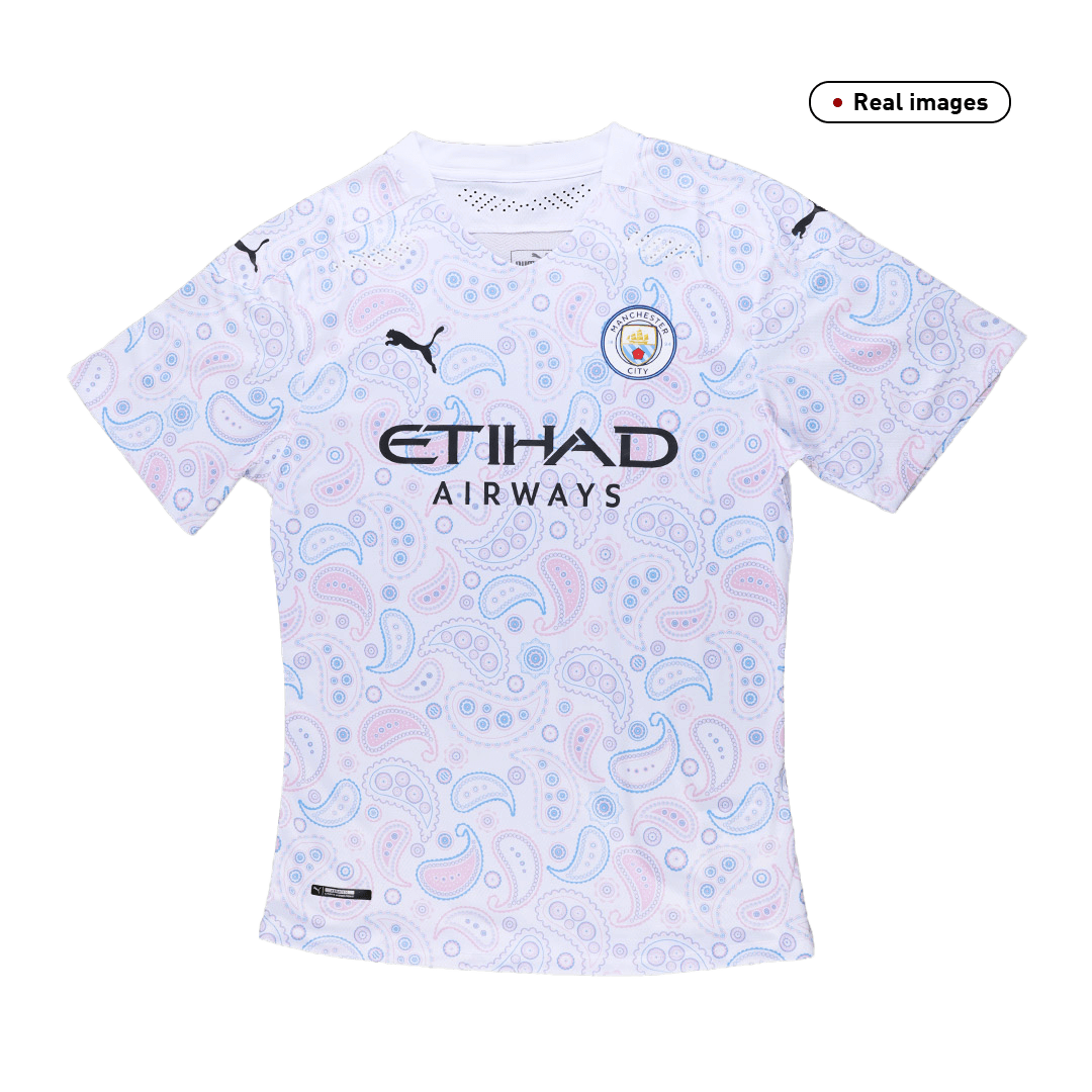 Manchester City Third Away Jersey Authentic 2020/21