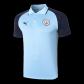 Manchester City Polo Shirt 2020/21 - Navy&Blue
