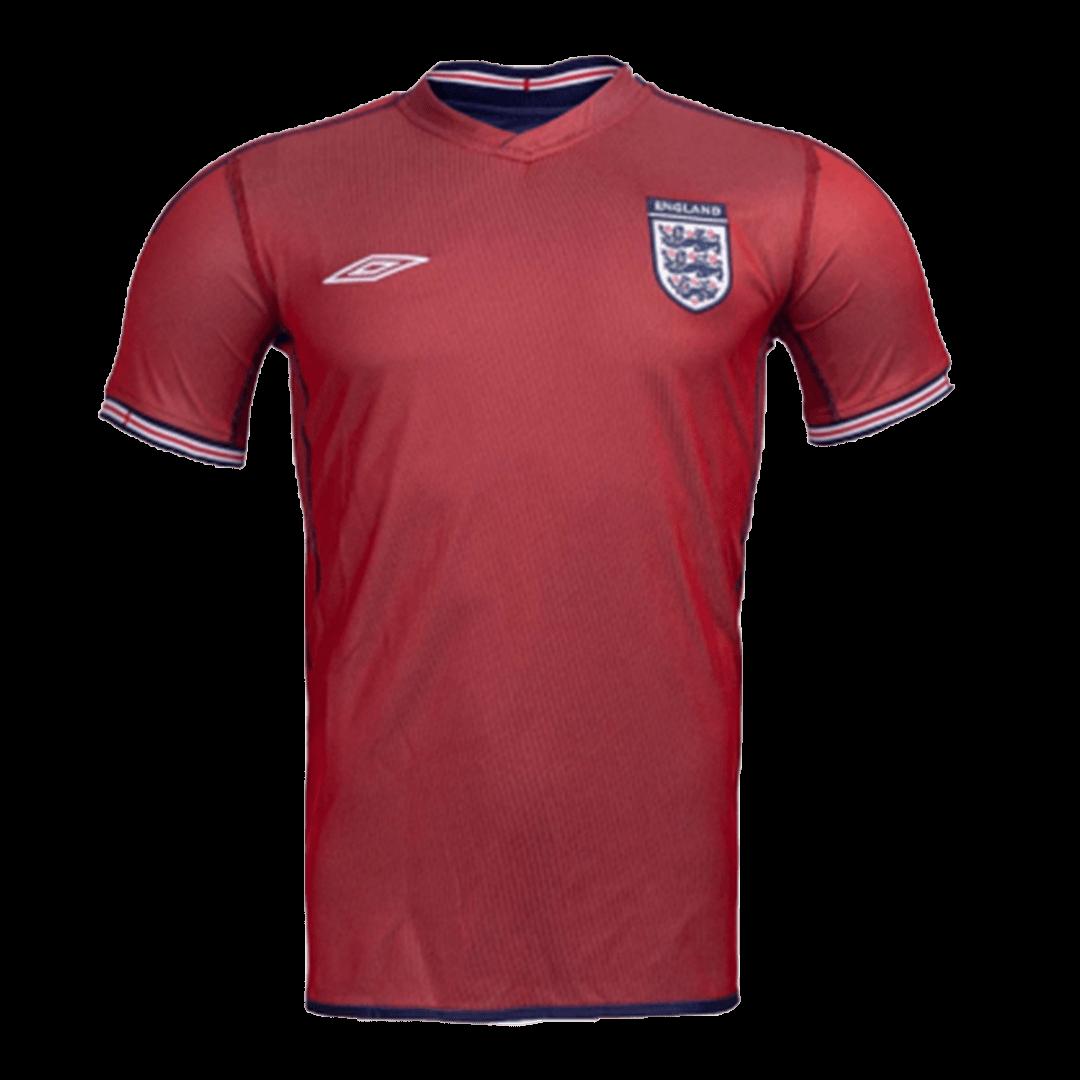 England Away Jersey Retro 2002