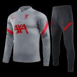 Liverpool Sweat Shirt Kit 2020/21 - Light Gray