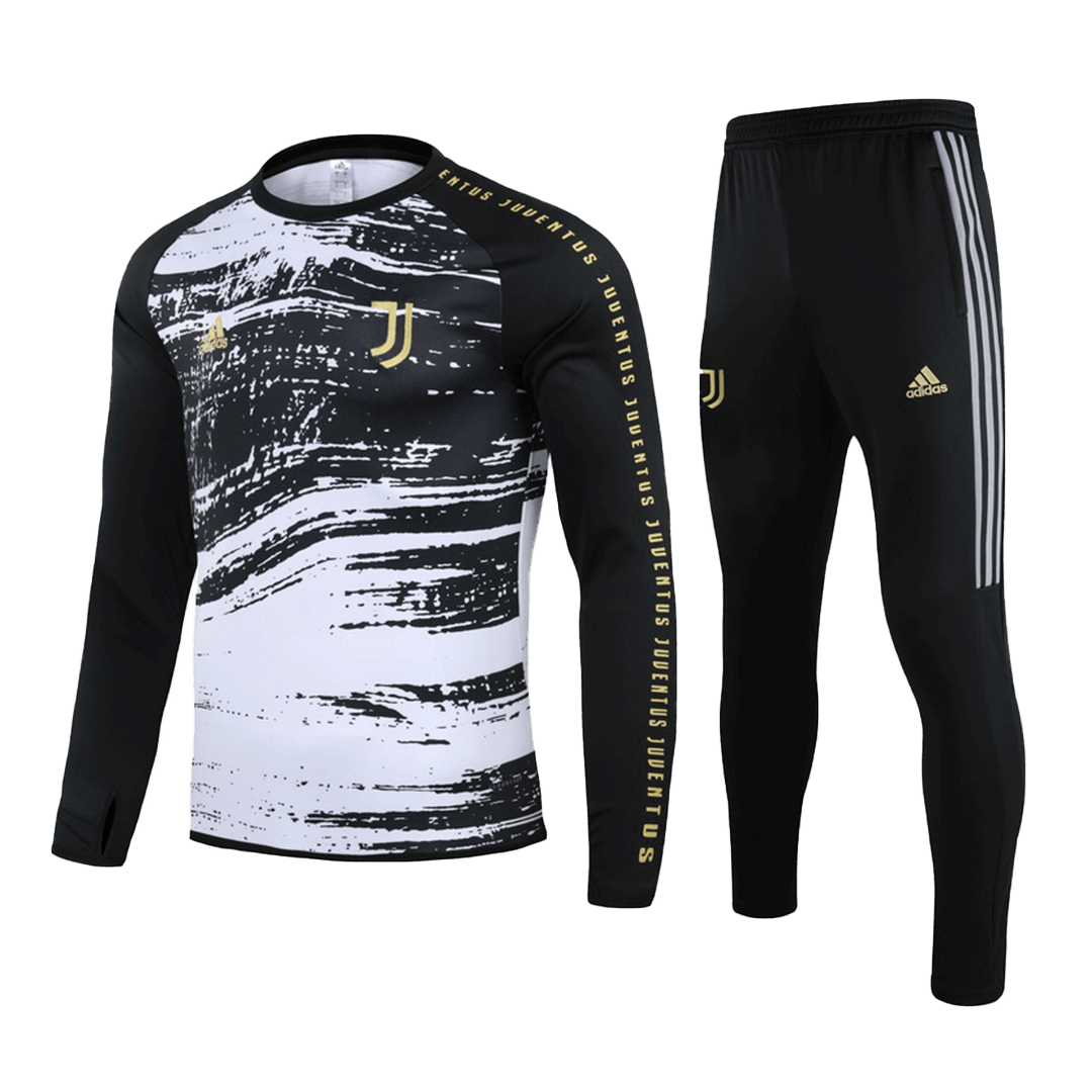 Juventus Sweat Shirt Kit 2020/21 - BlackWhite