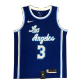 Los Angeles Lakers Anthony Davis #3 NBA Jersey Swingman 2020 Nike - Blue - Classic