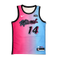 Miami Heat Tyler Herro #14 NBA Jersey Swingman 2020/21 Nike - Blue&Pink - City