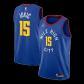 Denver Nuggets Nikola Jokic #15 NBA Jersey Swingman 2020/21 Jordan - Blue - Statement