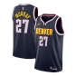 Denver Nuggets Jamal Murray #27 NBA Jersey Swingman 2020/21 Nike - Navy - Icon