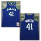 Dallas Mavericks Dirk Nowitzki #41 NBA Jersey 1998/99 Mitchell & Ness - Blue - Classic