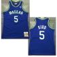 Dallas Mavericks Kidd #5 NBA Jersey 1994/95 Mitchell & Ness - Blue - Classic