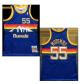 Denver Nuggets Dikembe Mutombo #55 NBA Jersey Swingman 1991/92 Mitchell & Ness - Blue - Classic