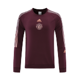 Manchester United Round Neck Sweater 2021/22 - Red