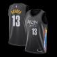 Brooklyn Nets Harden #13 NBA Jersey Swingman 2020/21 Nike - Black - City