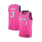 Miami Heat Dwyane Wade #3 NBA Jersey Swingman 2019/20 Nike - Pink - City