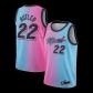 Miami Heat Jimmy Butler #22 NBA Jersey Swingman 2020/21 Nike - Blue&Pink - City