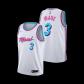 Miami Heat Dwyane Wade #3 NBA Jersey Swingman 2019/20 Nike - White - City
