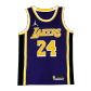 Los Angeles Lakers Kobe Bryant #24 NBA Jersey Swingman 2020/21 Jordan - Purple - Statement