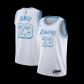 Los Angeles Lakers LeBron James #23 NBA Jersey Swingman 2020/21 Nike - White - City