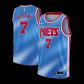 Brooklyn Nets Kevin Durant #7 NBA Jersey Swingman 2020/21 Nike - Blue - Classic