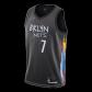 Brooklyn Nets Kevin Durant #7 NBA Jersey Swingman 2020/21 Nike - Black - City
