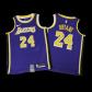 Los Angeles Lakers Kobe Bryant #24 NBA Jersey Swingman Nike - Purple - Statement