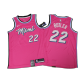 Miami Heat Jimmy Butler #22 NBA Jersey Swingman 2019/20 Nike - Pink - City