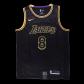 Los Angeles Lakers Kobe Bryant #8 NBA Jersey Swingman Nike - Black - City