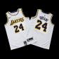 Los Angeles Lakers Kobe Bryant #24 NBA Jersey Swingman Nike - White - Association