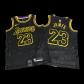 Los Angeles Lakers LeBron James #23 NBA Jersey Swingman Nike - Black - City