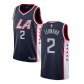 Los Angeles Clippers Kawhi Leonard #2 NBA Jersey Swingman Nike - Blue - City