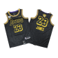 Los Angeles Lakers LeBron James #23 NBA Jersey Swingman 2020 Nike - Black - City