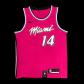 Miami Heat Tyler Herro #14 NBA Jersey Swingman Nike - Pink - City