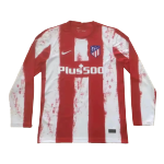 Atletico Madrid Home Jersey 2021/22 - Long Sleeve