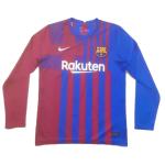 Barcelona Home Jersey 2021/22 - Long Sleeve