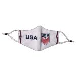 USA Soccer Face Mask - White