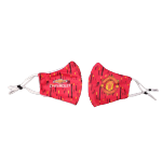 Manchester United Soccer Face Mask - Red