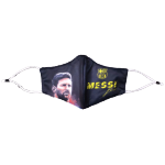 Barcelona Soccer Face Mask - Black
