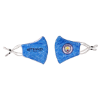 Manchester City Soccer Face Mask - Blue
