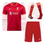 Liverpool Home Jersey Kit 2021/22(Jersey+Shorts+Socks)